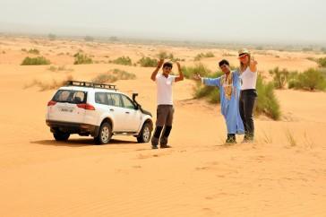 Excursion 4x4 dunas